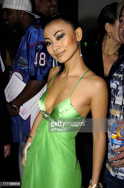 Bai Ling during Spike TV's 2nd Annual Video Game Awards 2004 Backstage at Barker Hangar in Santa Monica California United States