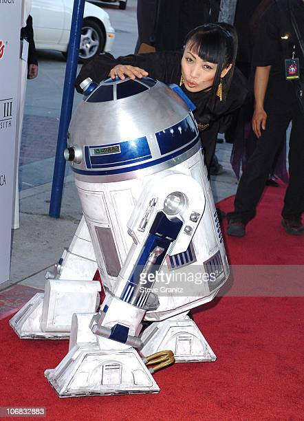Bai Ling during Star Wars Episode III Revenge of The Sith Premiere to Benefit Artists for a New South Africa Charity Arrivals at Mann's Village...