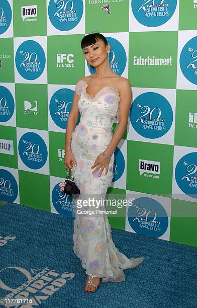 Bai Ling during The 20th Annual IFP Independent Spirit Awards Bravo on the Red Carpet in Santa Monica California United States