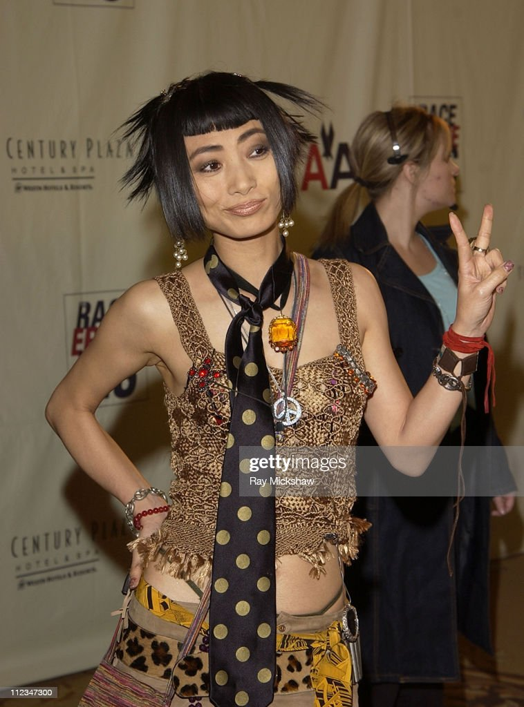 Bai Ling during The 9th Annual Race to Erase MS Co-Chaired by Nancy Davis & Tommy Hilfiger - Fashion Show at The Century Plaza Hotel in Century City, California, United States.