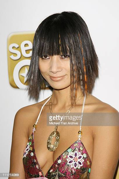 Bai Ling during The SeenOnCom Launch Party Arrivals at Boulevard3 in Hollywood California United States