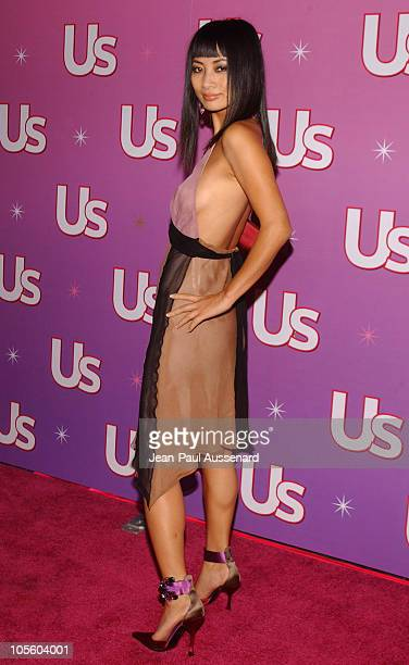 Bai Ling during Us Weekly Hot Young Hollywood Party Arrivals at Spider Club in Hollywood California United States