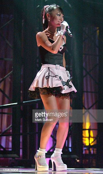 Bai Ling during VH1's But Can They Sing Taping November 11 2005 at Tribune Studios in Hollywood California United States