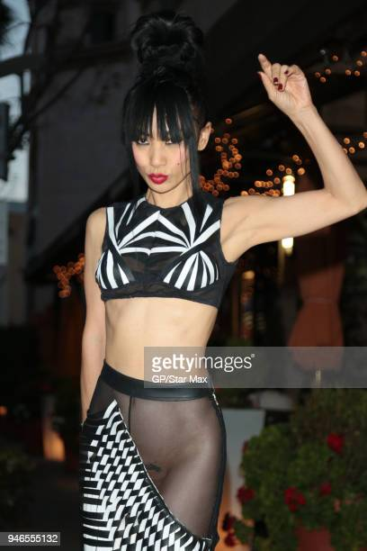 Bai Ling is seen on April 14 2018 in Los Angeles CA