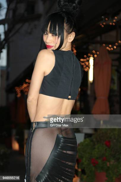 Bai Ling is seen on April 14, 2018 in Los Angeles, CA.