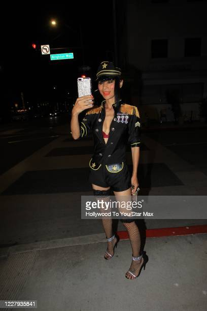 Bai Ling is seen on August 5 2020 in Los Angeles California
