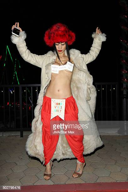 Bai Ling is seen on December 28 2015 in Los Angeles California