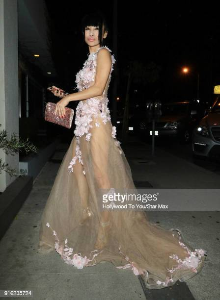 Bai Ling is seen on February 8 2018 in Los Angeles California