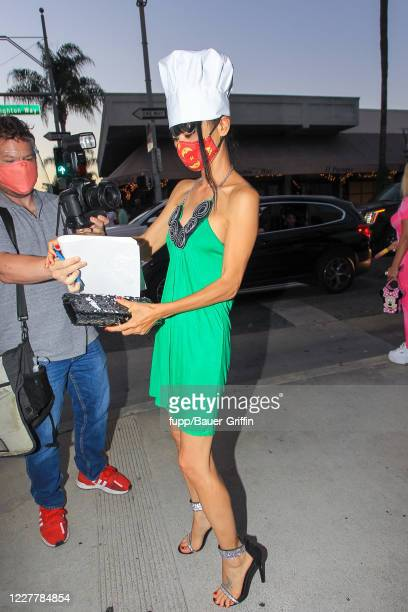 Bai Ling is seen on July 25 2020 in Los Angeles California