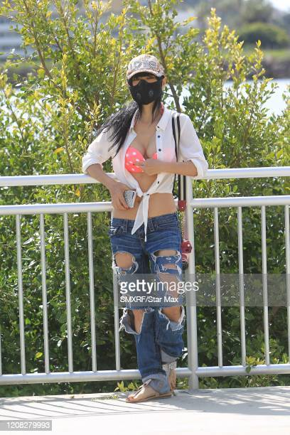 Bai Ling is seen on March 25, 2020 in Los Angeles, California.