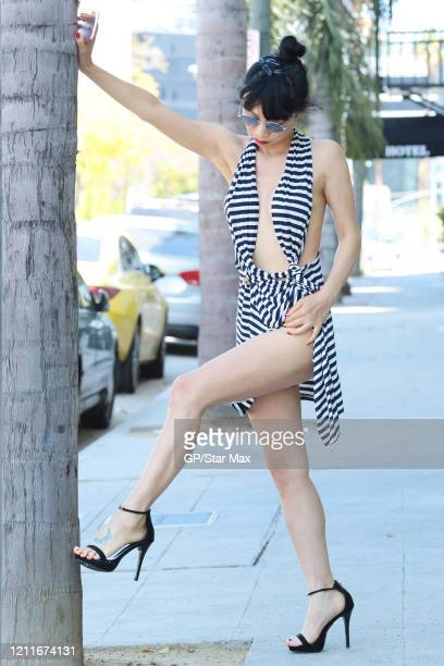 Bai Ling is seen on May 3, 2020 in Los Angeles, California.