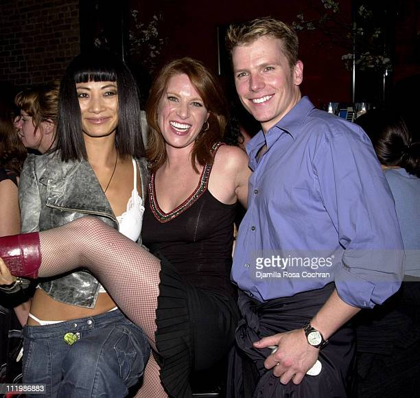 Bai Ling Isabel Rose and Robert Cary during Gotham Magazine Hosts the After Party for Anything But Love Premiere at 13 Little Devils in New York City...