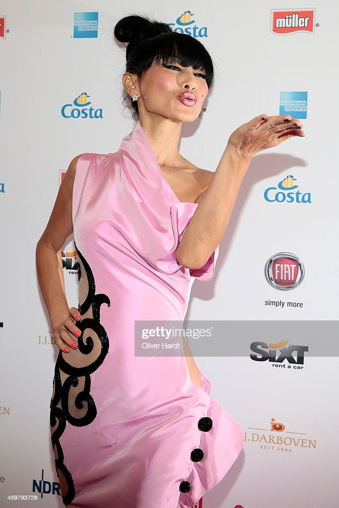 Bai Ling poses during the event 'Movie Meets Media' at Hotel Atlantic on December 1, 2014 in Hamburg, Germany.