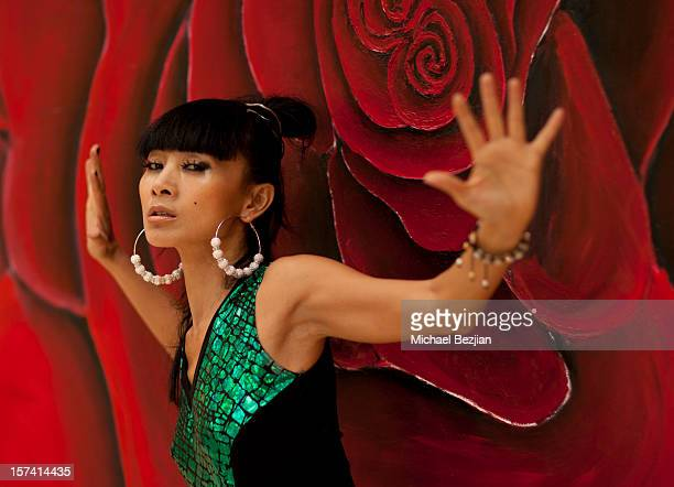 Bai Ling poses for portrait at Posing Heroes Beauty And Portrait Day Benefiting The Lange Foundation on December 2 2012 in Holmby Hills California
