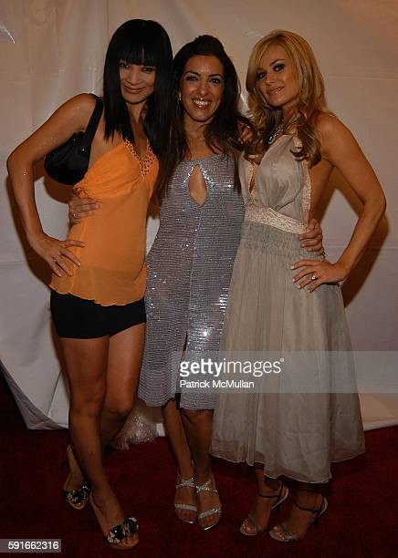 Bai Ling, Rossana Giacalone and Carmen Electra attend Life and Style Magazine presents Stylemakers 2005 at Montmartre Lounge on May 26, 2005.