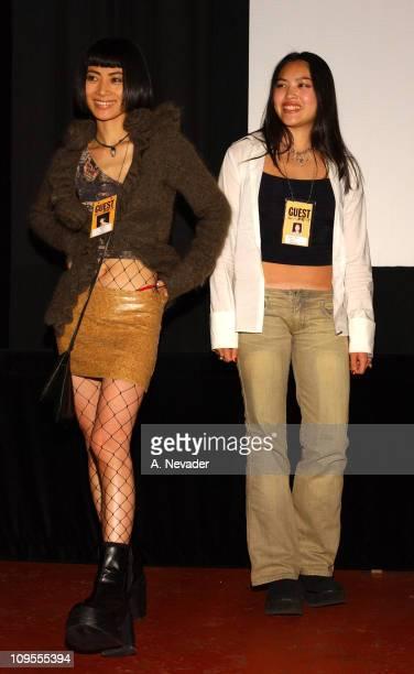 Bai Ling with Kristy Wu during 45th San Francisco International Film Festival 'Face' PostScreening QA at AMC Kabuki 8 Theatres in San Francisco...