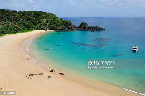 Baia do Sancho is most beautiful beach in Brazil