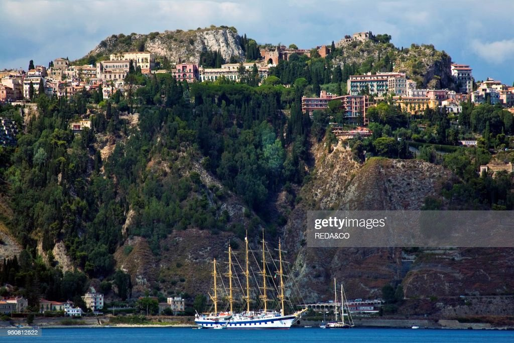 Baia giardini di naxos messina sicily italy europe pictures