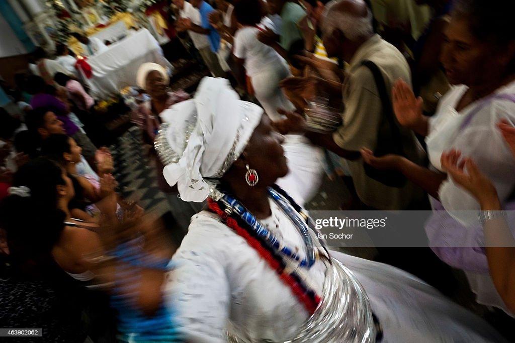 Saint Lazarus Cult in Salvador de Bahia, Brazil : News Photo