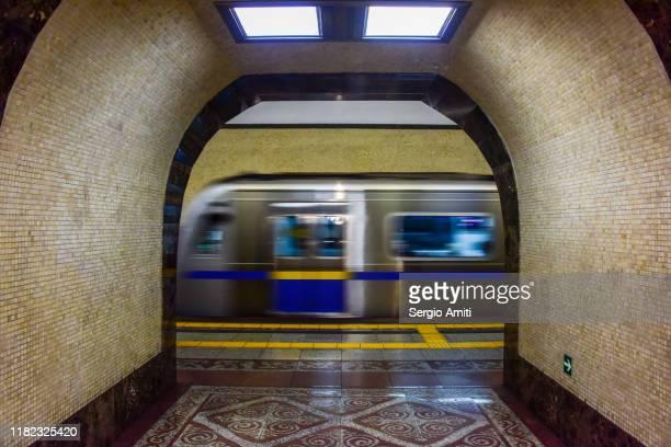 baikonur metro station in almaty - sergio amiti stock pictures, royalty-free photos & images