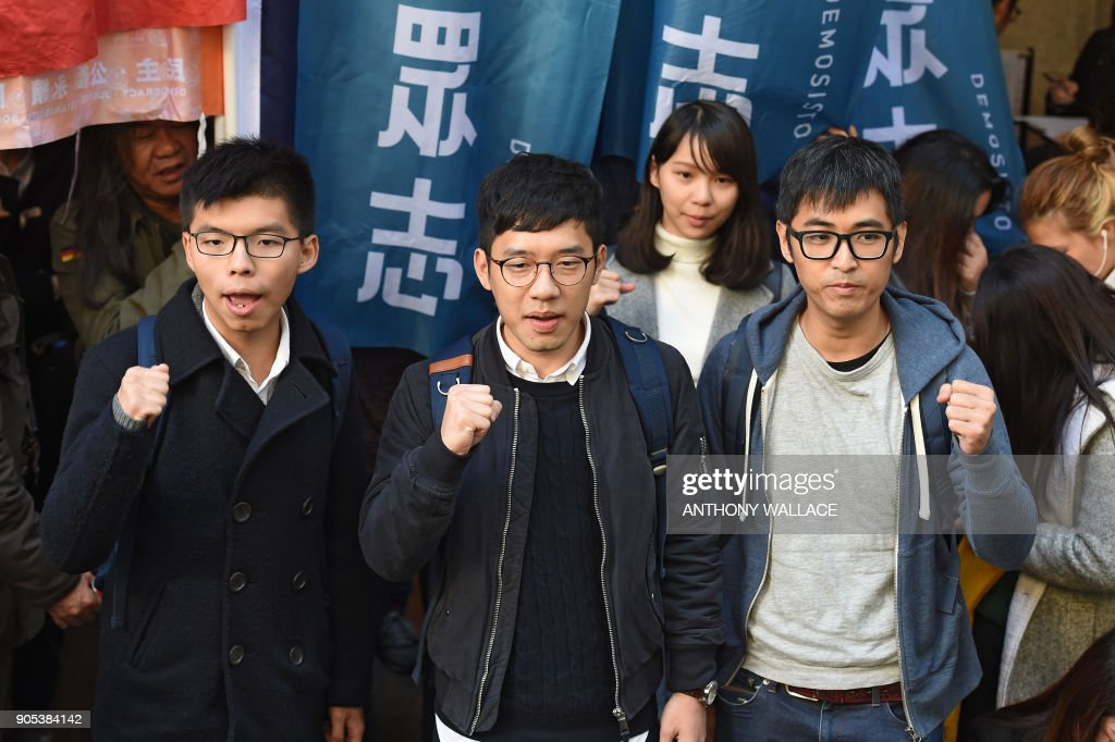 Hong Kong leading democracy activists appeal jail terms