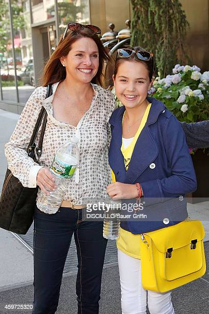 Bailee Madison and her mother Patricia Riley are seen on June 08 2012 in New York City