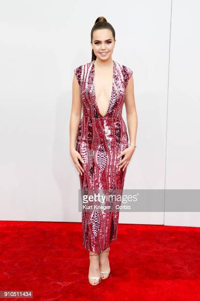 Bailee Madison arrives at the 2016 American Music Awards at the Microsoft Theater on November 20 2016 in Los Angeles California EDITORS NOTE Image...