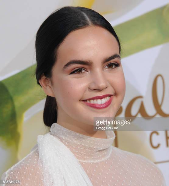 Bailee Madison arrives at the 2017 Summer TCA Tour Hallmark Channel And Hallmark Movies And Mysteries at a private residence on July 27 2017 in...