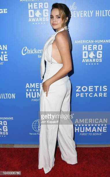 Bailee Madison attends American Humane's 2018 American Humane Hero Dog Awards at The Beverly Hilton Hotel on September 29 2018 in Beverly Hills...