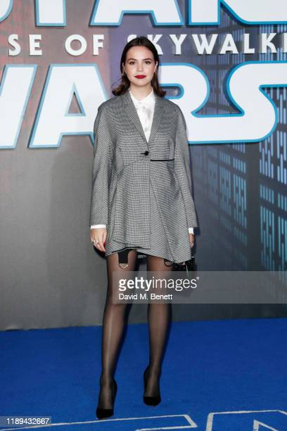 Bailee Madison attends the European Premiere of Star Wars The Rise of Skywalker at Cineworld Leicester Square on December 18 2019 in London England