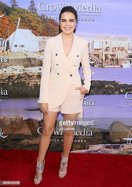 Bailee Madison attends the Hallmark Channel and Hallmark Movies and Mysteries Summer 2016 TCA press tour event on July 27 2016 in Beverly Hills...
