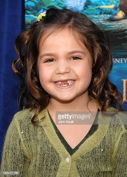 Bailee Madison during Bridge to Terabithia Los Angeles Premiere Arrivals at El Capitan Theater in Hollywood California United States