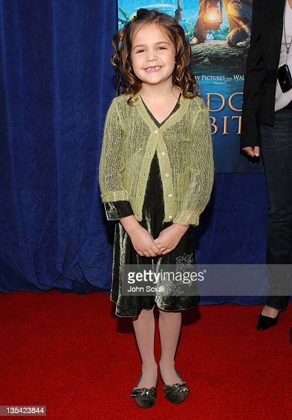 Bailee Madison during 'Bridge to Terabithia' Los Angeles Premiere Arrivals at El Capitan Theater in Hollywood California United States