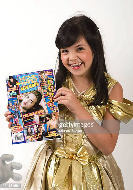 Bailee Madison poses at the Spooktacular Sleepover Great Escape on October 30 2009 in Los Angeles California