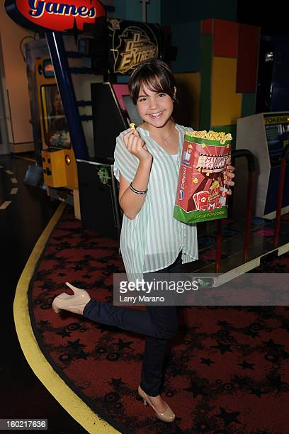Bailee Madison poses for a portrait at 'Parental Guidance' on January 27 2013 in Fort Lauderdale Florida
