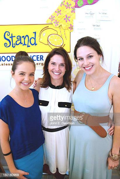 Bailee Madison promotes the new movie Smart Cookies and celebrates the 100th anniversary of Girl Scouts at Pretty Please Boutique with mother Patti...