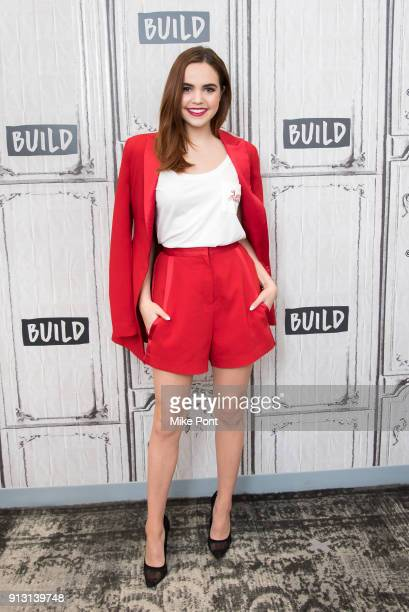 Bailee Madison visits the Build Series to discuss the book 'Losing Brave' at Build Studio on February 1 2018 in New York City