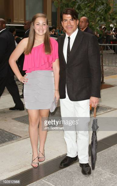 Bailey Batt and Bryan Batt attends a screening of The Twilight Saga Eclipse hosted by The Cinema Society and Piaget at the Crosby Street Hotel on...