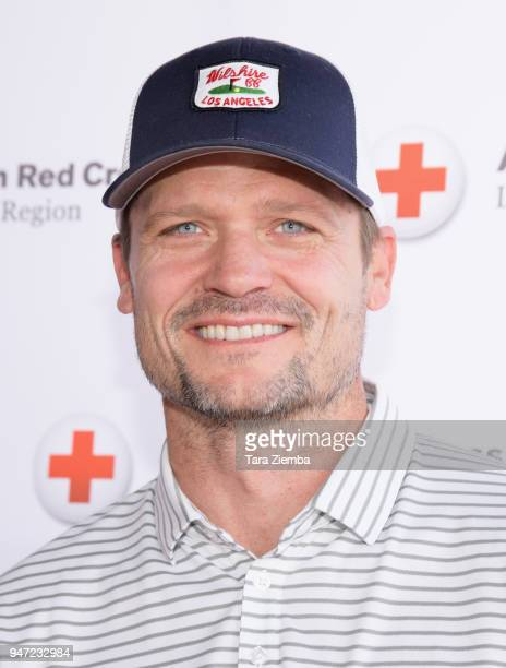 Bailey Chase attends the Red Cross' 5th Annual Celebrity Golf Tournament at Lakeside Golf Club on April 16, 2018 in Burbank, California.