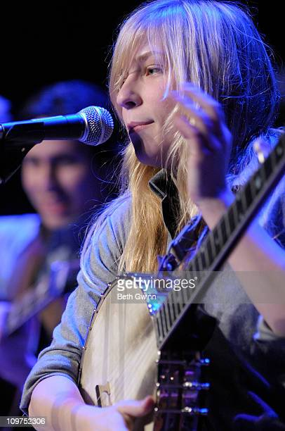 Bailey Cooke performs for Music City Roots at the Loveless Barn on March 2 2011 in Nashville Tennessee