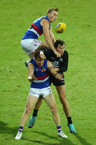 AUS: AFL Rd 6 - Carlton v Western Bulldogs