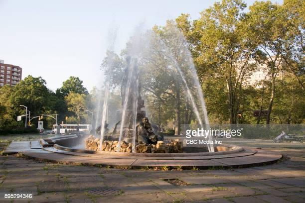 bailey fountain - brooklyn - プロスペクト公園 ストックフォトと画像