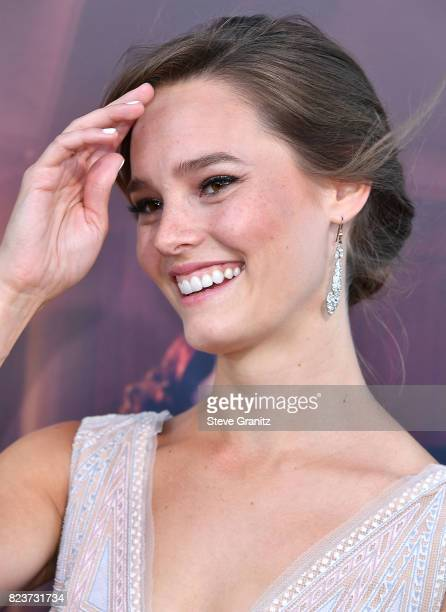 Bailey Noble arrives at the Premiere Of Amazon Studios' The Last Tycoon at the Harmony Gold Preview House and Theater on July 27 2017 in Hollywood...