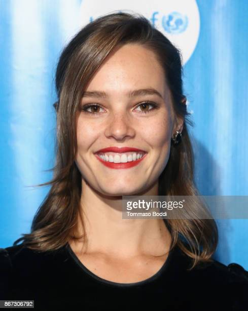 Bailey Noble at the UNICEF Next Generation Masquerade Ball at Clifton's Republic on October 27 2017 in Los Angeles California