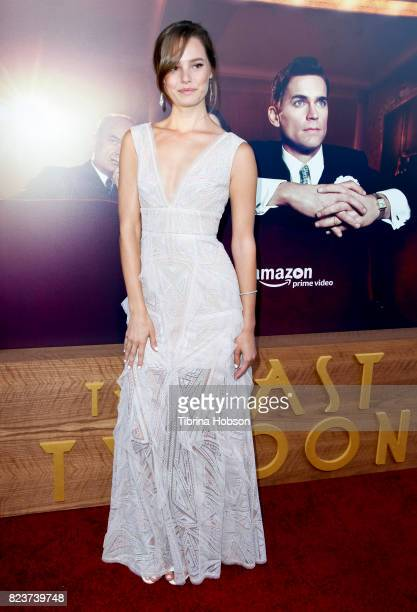 Bailey Noble attends the premiere of Amazon Studios 'The Last Tycoon' at the Harmony Gold Preview House and Theater on July 27 2017 in Hollywood...