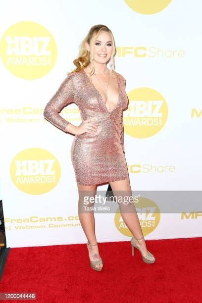 Bailey Rayne attends the XBIZ Awards 2020 on January 16 2020 in Los Angeles California