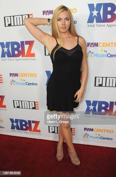 Bailey Reed arrives for XBIZ Rise Adult Talent Appreciation Gala held at Exchange LA on November 14 2018 in Los Angeles California