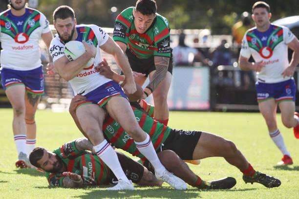 AUS: NRL Rd 19 - Rabbitohs v Warriors