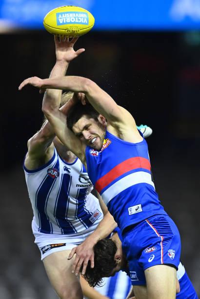 AUS: AFL Rd 5 - Western Bulldogs v North Melbourne
