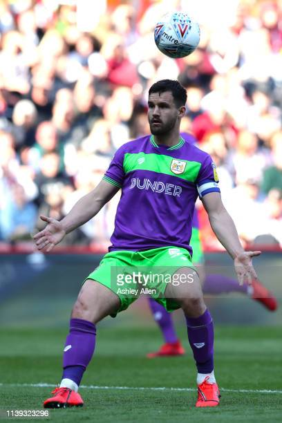 Bailey Wright captain of Bristol City during the Sky Bet Championship match between Sheffield United and Bristol City at Bramall Lane on March 30,...